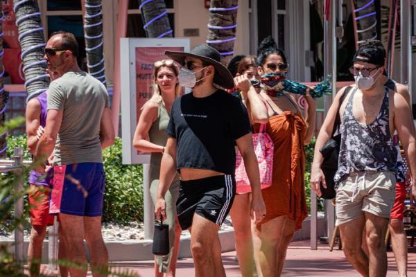 Casos nuevos de COVID-19 no llegan a 2.000 en Florida por segundo día consecutivo