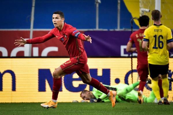 Cristiano Ronaldo marca su gol número 100 con Portugal