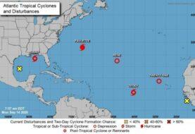 Sally escala a huracán rumbo a EEUU en panorama complicado en el Atlántico