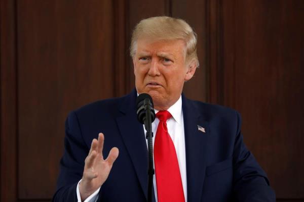 Trump alaba recuperación laboral y promete 10 millones de empleos para 2021