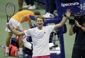 Zverev dice presente en su primera final del US Open y Grand Slam