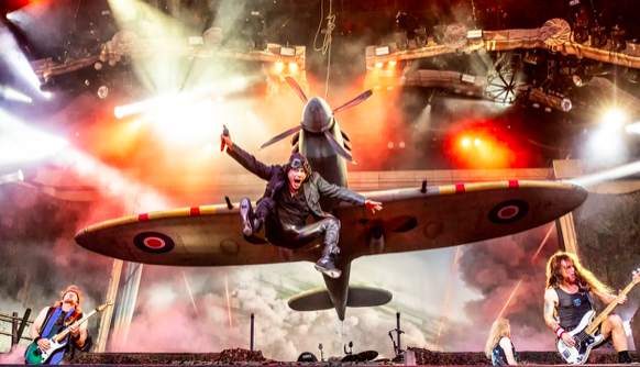 """Iron Maiden presenta disco de su última gira """"Legacy Of The Beast"""""""