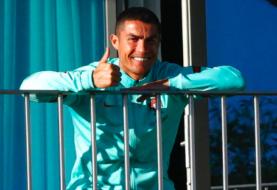 Cristiano ya está en Turín y continuará el confinamiento en su vivienda