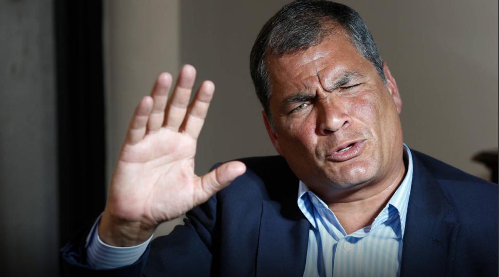Ecuador solicitará a Interpol el arresto del expresidente Rafael Correa