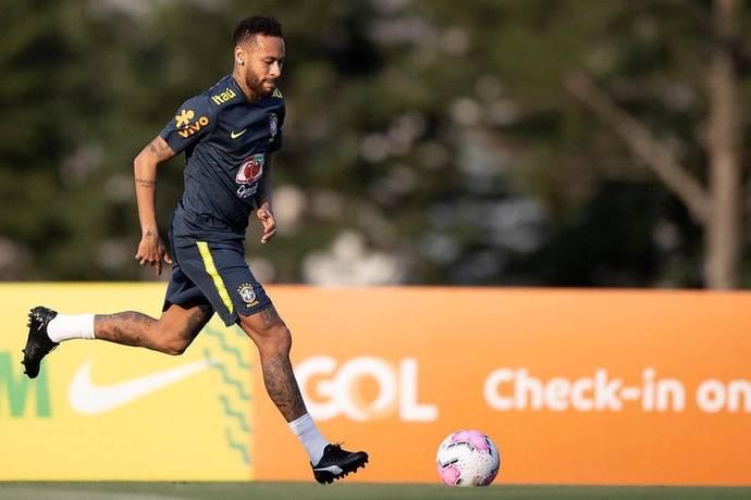 Neymar es duda para el enfrentamiento contra Bolivia