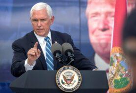 Pence pide un periodo más para Trump para mantener las sanciones a Cuba