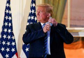 """Trump pide vencer a la """"izquierda radical"""" en su primer mitin post COVID-19"""