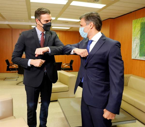 Pedro Sánchez se reúne con Leopoldo López en Madrid