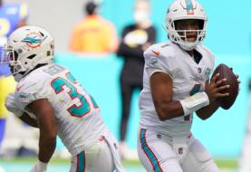 Tagovailoa dirige la victoria de los Dolphins