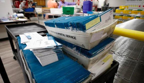 Servicio Postal de EEUU procesó mas de 150.000 votos después de la elección