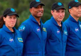 Cuatro astronautas de la misión tripulada a la EEI ya están en Florida