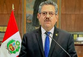 Fiscalía peruana abre investigación contra Merino por violaciones a los DD.HH