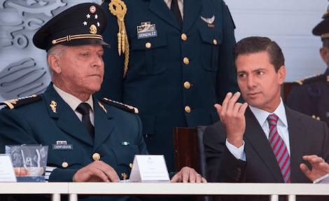 Cienfuegos queda libre de cargos en EE.UU. y volverá inmediatamente a México