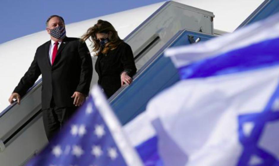 Pompeo primer secretario de Estado en visitar colonia israelí en Cisjordania