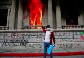 ONU pide investigar lo sucedido en las protestas en Guatemala