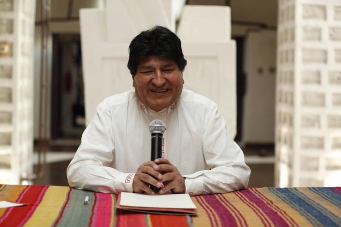 """Evo Morales ve en el litio la causa del """"golpe de Estado"""""""