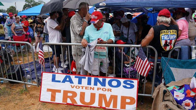 Latinos son los que decidirán las elecciones en Estados Unidos