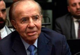 Expresidente argentino Menem seguirá hospitalizado por una infección urinaria