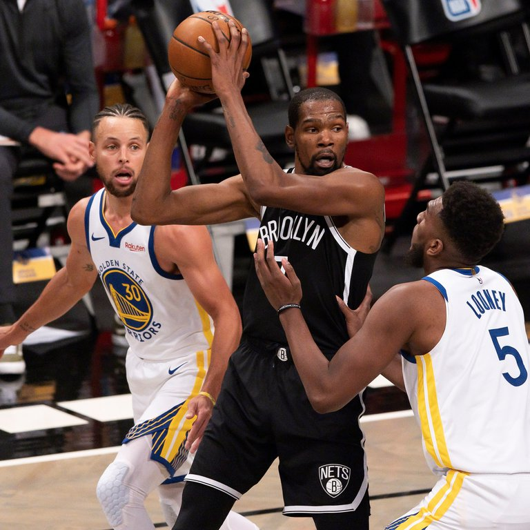 Irving y Durant se exhiben ante los Warriors; los Clippers fueron mejores que los Lakers