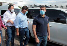 Leopoldo López visita frontera y dice que Venezuela tiene hambre de libertad
