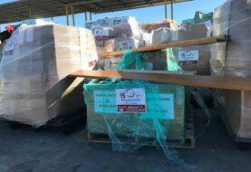 Segundo vuelo llega a Honduras 8 toneladas de ayuda
