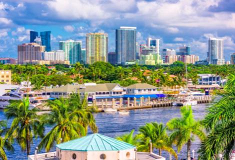 Florida fue en 2020 el tercer estado al que más personas se mudaron