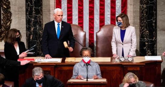 Congreso de EE.UU. valida el triunfo de Biden y Trump acepta la transición