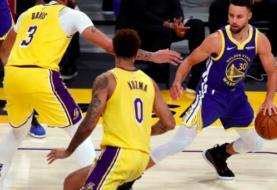 Warriors sorprenden a los Lakers