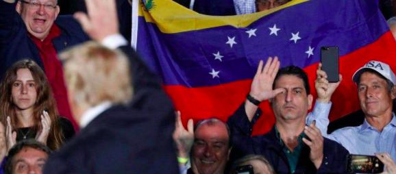"""Comunidad venezolana agradece a Trump que """"saque de las sombras a miles"""""""