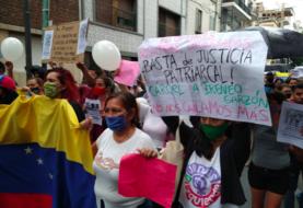 Protestan en Argentina por la violación a una joven venezolana