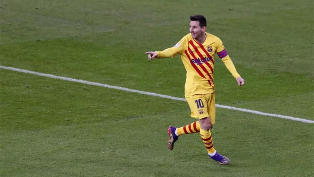 UEFA anuncia a Messi como el más goleador en sus competiciones