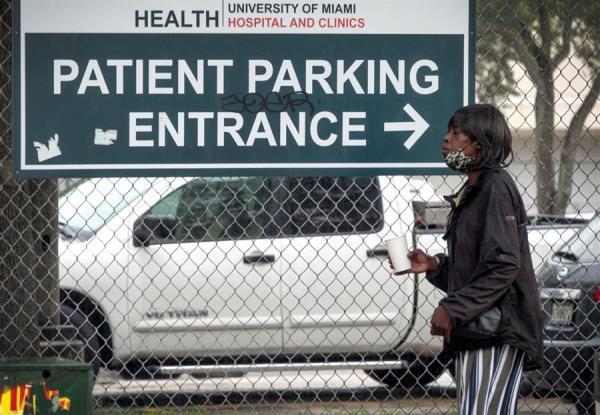 Florida: 15.431 casos más de covid-19, cerca de 290.000 vacunados