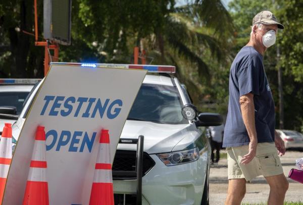 Florida lidera en Estados Unidos los casos de la cepa británica de covid-19