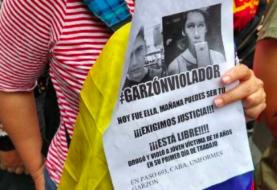 Protesta en Argentina ante la declaración del acusado de violar a venezolana