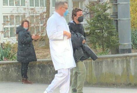 Fernando Alonso abandona el hospital de Berna donde fue operado