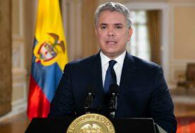 """Iván Duque pide no ser indiferentes a los """"crímenes atroces"""" en Venezuela"""