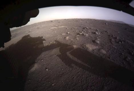 """Video de Perseverance, """"el primero"""" de una nave aterrizando en otro planeta"""