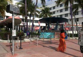 Calma en Miami Beach durante el segundo fin de semana bajo toque de queda
