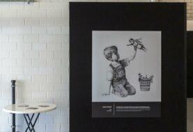 Banksy subasta obra dedicada a los sanitarios