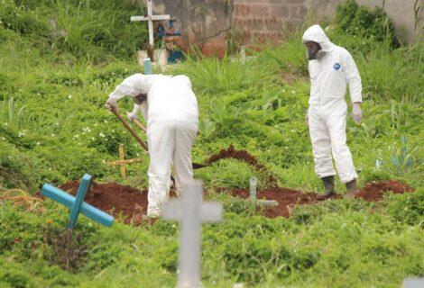 Mueren 14 sanitarios por covid-19 en dos días en Venezuela