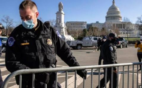 Policía alerta de un plan para irrumpir el Capitolio de EEUU