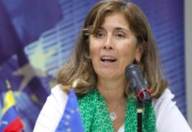 Embajadora de la UE deja Venezuela tras recibir una orden de expulsión