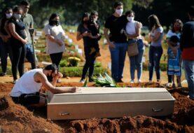 Brasil registra 3.780 nuevas muertes por covid-19