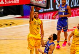 Antetokounmpo y Curry dan triunfo al Team LeBron en el juego de Estrellas NBA