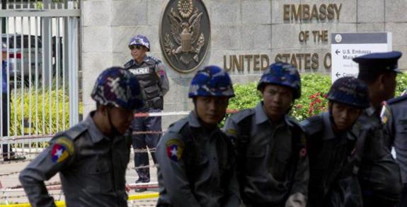 EEUU ordena la evacuación de su personal diplomático no esencial de Birmania