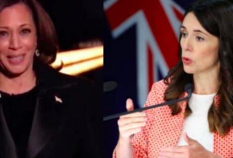Kamala Harris y Jacinda Ardern, conmemoran el Día de la Mujer en Eurocámara