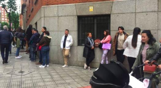 Venezolanos y colombianos que piden asilo en UE lo hace en España