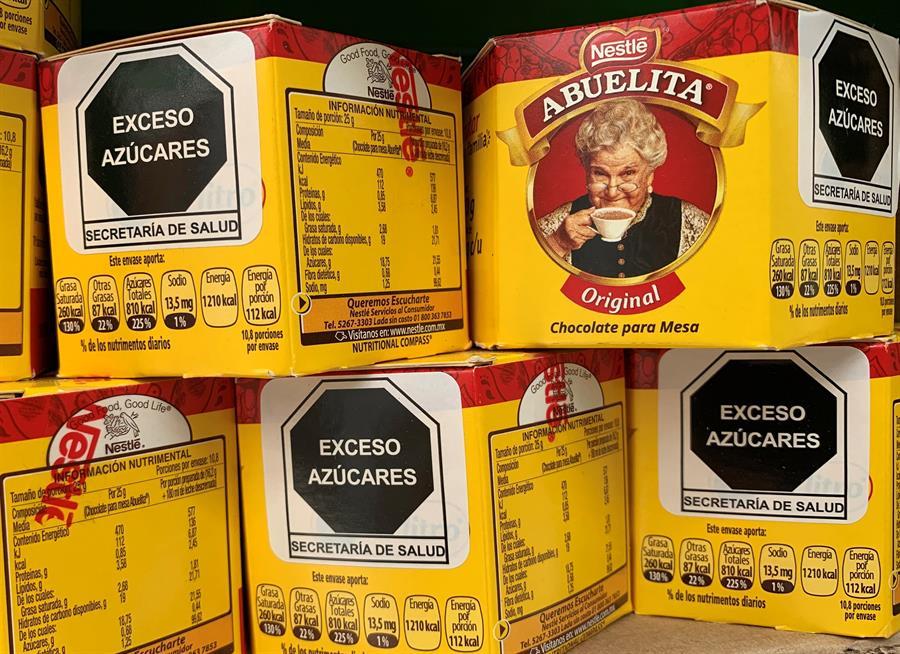 México avanza en su etiquetado frontal de alimentos