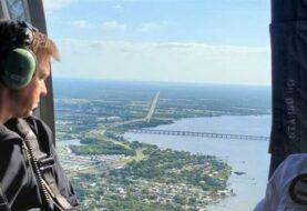 Investigan otra posible fuga en un embalse de desechos químicos de Florida