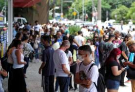 Sao Paulo reabre comercios e iglesias pese a las altas cifras